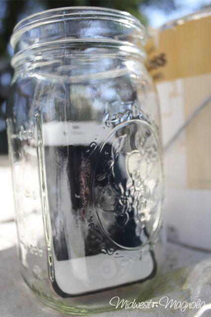 DIY iphone speaker phone in a jar