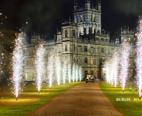 Wedding at Highclere Castle - So very Downton Abbey!