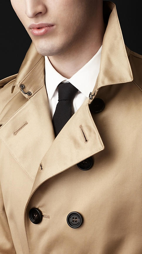 Burberry cotton military trench coat for Autumn/Winter 2012