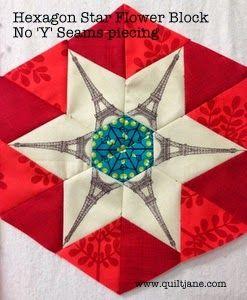 Hexagon Star Flower