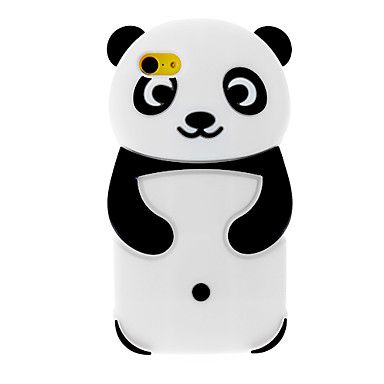 Panda Designed 3D Silicone Soft Case for iPhone 5C - iPhone 5C 3D Animal Cases - iPhone 5C Cases - iPhone Cases