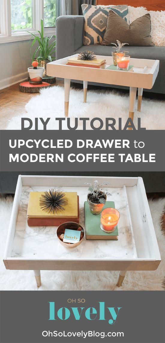 DIY Upcycled Drawer