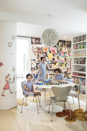 Darcy Miller's Home - Design by David Mann