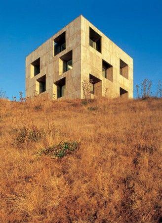 Poli House, Coliumo peninsula, Chile, by Pezo von Ellrichshausen. Photograph by Cristobal Palma.