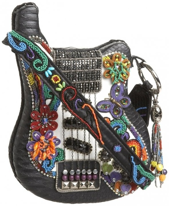 Mary Frances Unusual Guitar Purse -- all hand-made