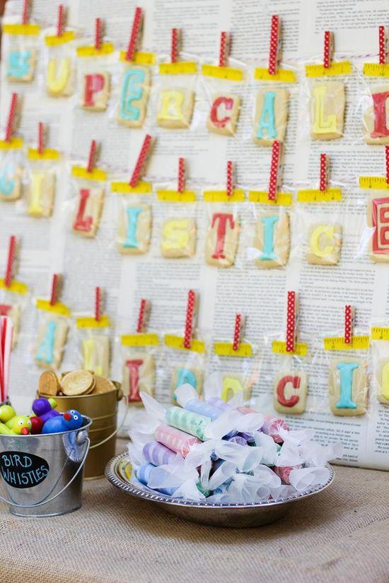 Mary Poppins Party with Lots of Really Cute Ideas via Kara's Party Ideas
