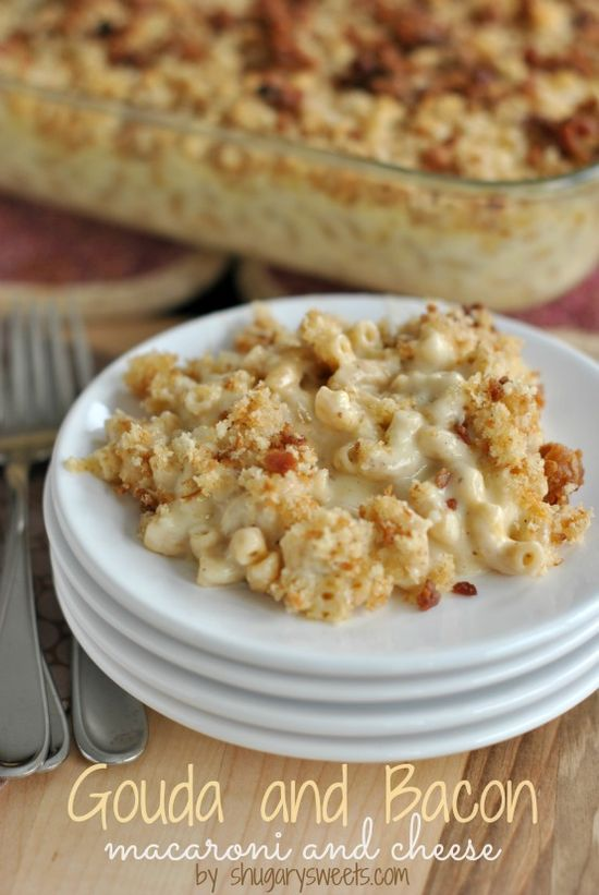 Gouda Bacon Macaroni and Cheese
