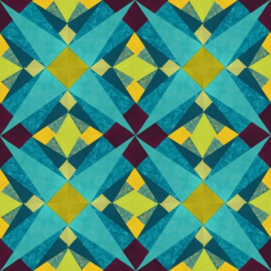 16 Folded Quilt bloc
