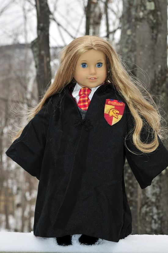 Hermione doll outfit for American Girl