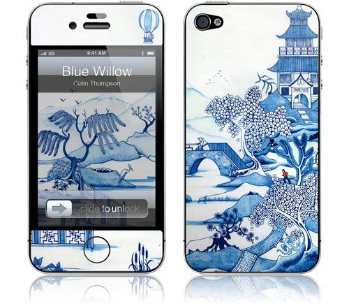 Colin Thompson - Blue Willow - iPhone 4S, 4