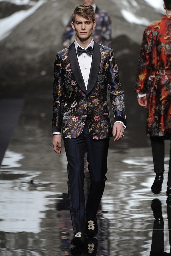 Louis Vuitton Men's RTW Fall 2013 #blacktie