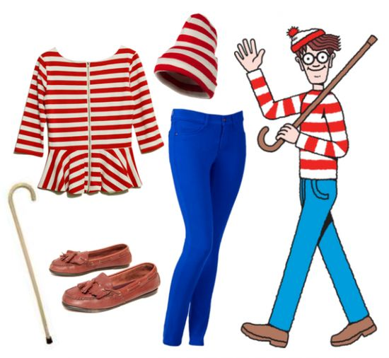 Where's Waldo Halloween Costume Idea
