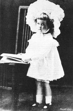 A very cute baby Norma Shearer