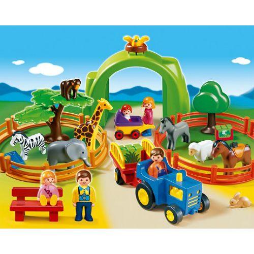 Playmobil 1.2.3 Large Zoo