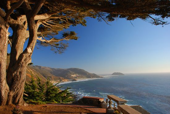 Ventana  Big Sur CA    June 1997.  My family and I ate lunch here for our anniversary (18). Fell in love with the view.
