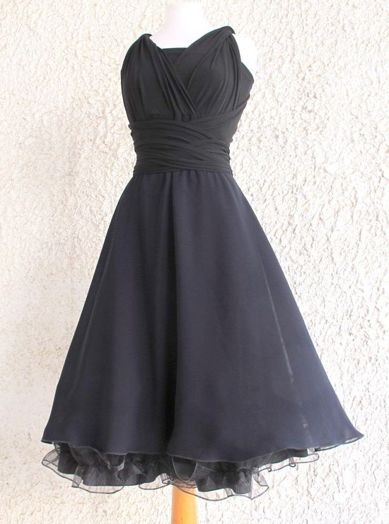 Infinity Dress   two layers with chiffon  and petticoat