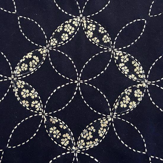 Making A Lovely Sashiko Table Cloth - Indigo Niche