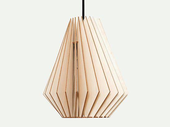 $132 hektor   IUMI DESIGN wooden hanging light by IUMIDESIGN on Etsy, €95.00