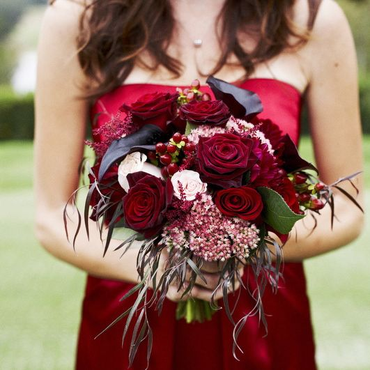 What if I changed my mind and went with Red as a wedding color? @Kristi Johnson