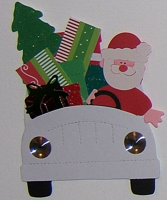 SIZZIX DOLL - SANTAS NEW WHEELS by Osborne Signs & Wall Art, via Flickr