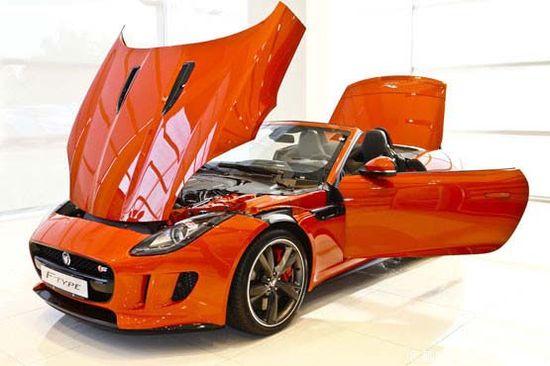 The new Jaguar sports car