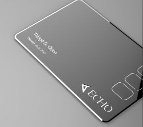 Echo card, all the credit cards onto one card #sick #gadget