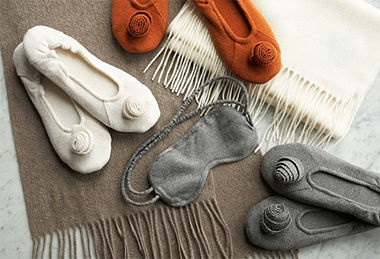 Throws, Slippers & Travel Accessories