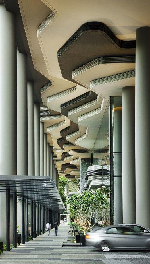 PARKROYAL on Pickering-WOHA Architects photo:Patrick Bingham-Hall