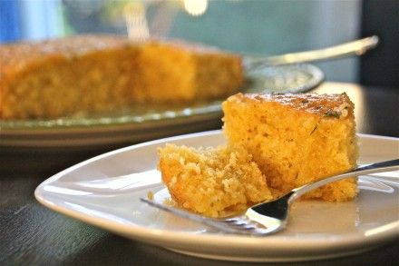 Olive Oil Cake Recipe #Thanksgivukkah