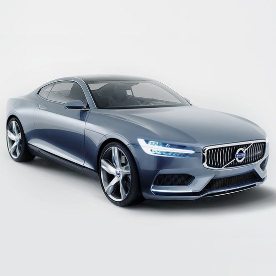 Volvo's classic P1800 is remade into a futuristic auto vision. Crystal gear shift included!