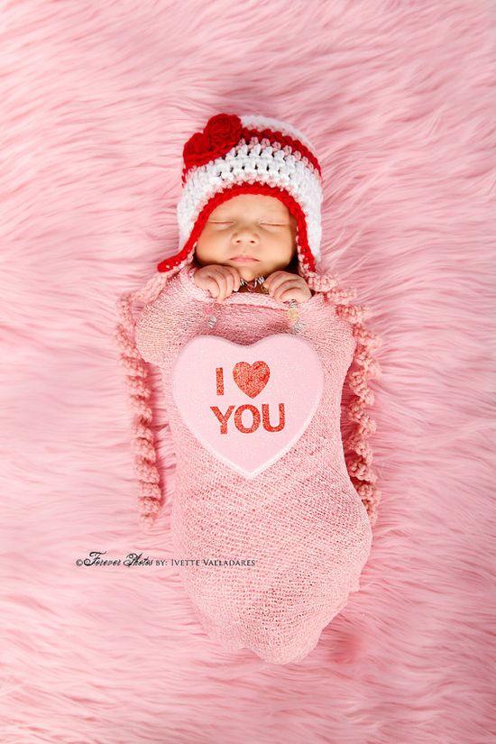 Baby Valentine's Hat!