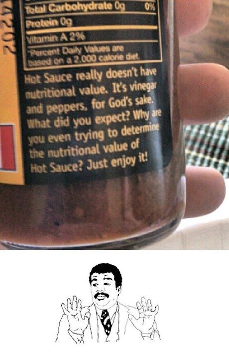 Just enjoy it! It's a condiment.