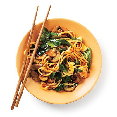 Stir-Fried Chinese Egg Noodles Budget Cooking Recipe