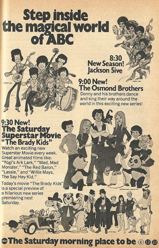 1972 Saturday Mornings ABC-Style