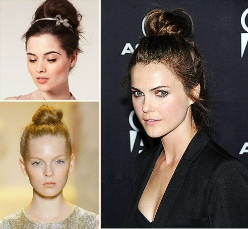 perfect top knot #hairstyles #wedding #hair