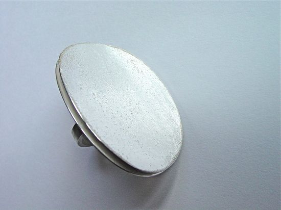 Christophe Burger - Silver / Silverleaf Ring