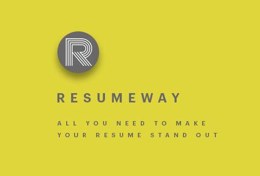ResumeWay (resumeway) on Pinterest - classic resume templates