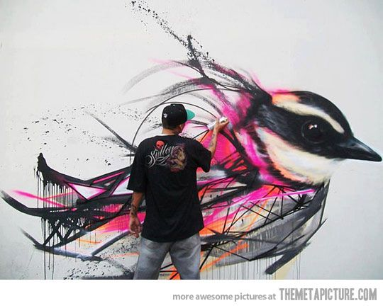 Awesome Spray Can Graffiti…