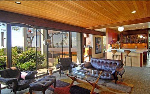 Interior Design of Mid-Century Contemporary Home in Canna Road Los Angeles