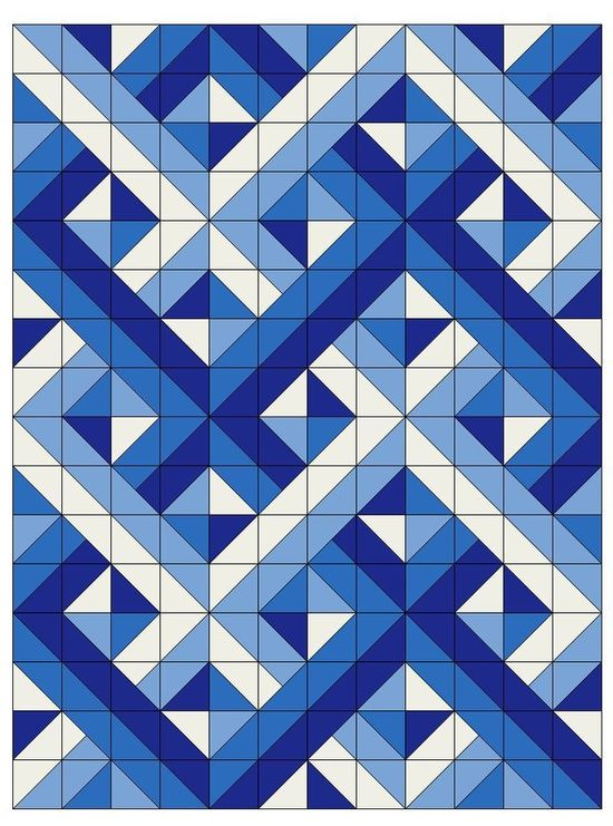 woven half square triangles quilting triangle quilt pattern Half Triangle Square Quilt Patterns | Quilt Design Creations
