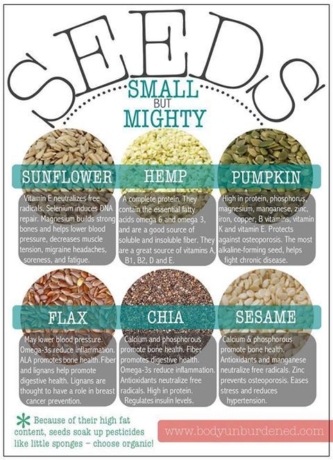 Seeds Small but Mighty!   #health #foods #superfood -  How do you stay healthy? Click the pic to find out more ...