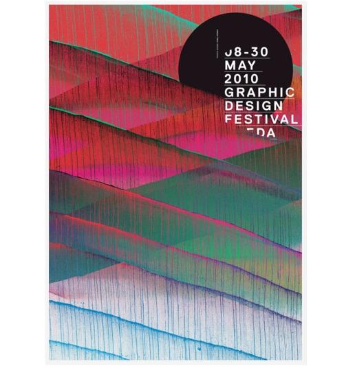 poster graphic design festival