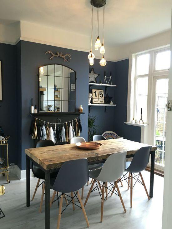 11 Best Dark Blue Dining Room, Blue Dining Room
