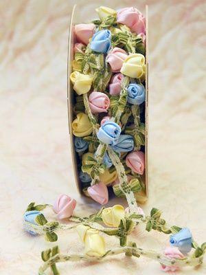 Mokuba Hand Made Rose Trim