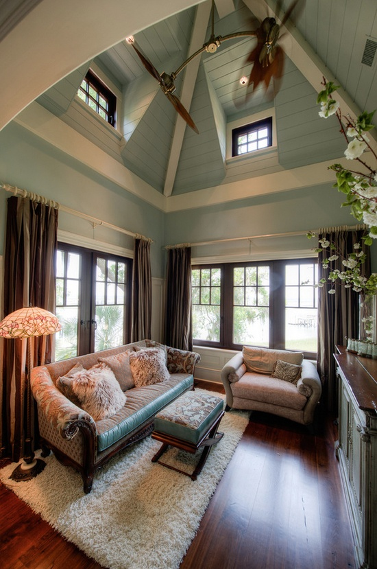 High Color-Splashed Ceilings