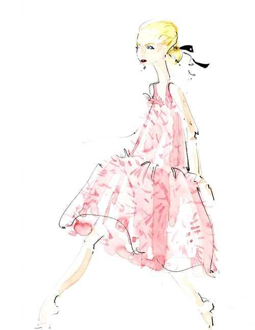 am obsessed with fashion illustration, I think I better add a board just for that!