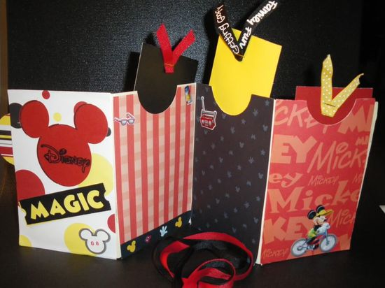 Disney ScrapBook Idea