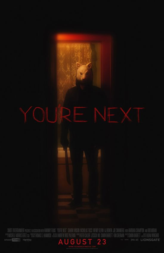 You're Next: Extra Large Movie Poster Image - Internet Movie Poster Awards Gallery