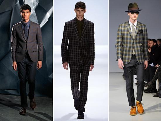 Men's Fashion 2013. Darks & Plaids.