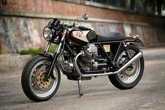Moto Guzzi1000SP - Pipeburn - Purveyors of Classic Motorcycles, Cafe Racers & Custom motorbikes